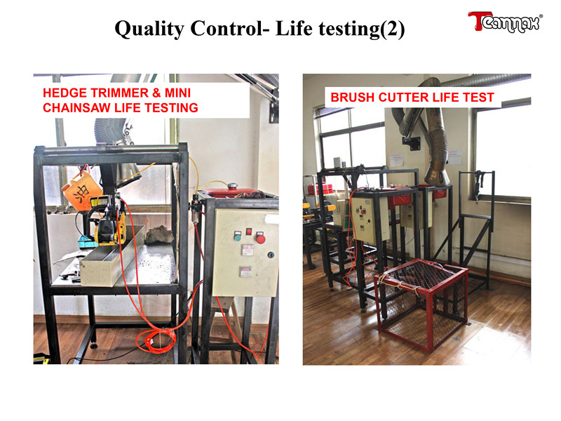 Quality Control-life testing(2)