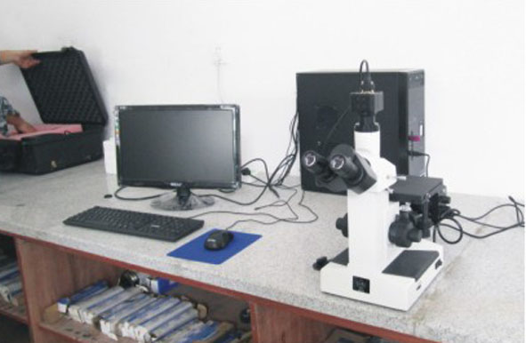 Metallographic Analysis Device