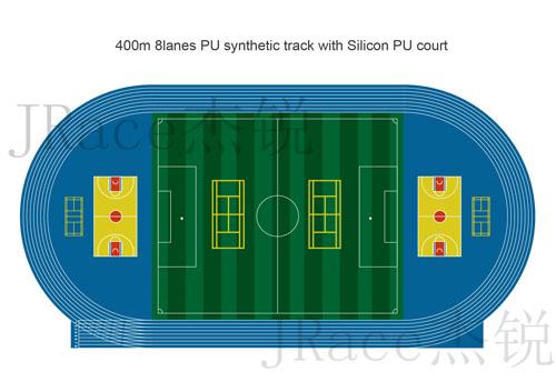 IAAF athletic tracks
