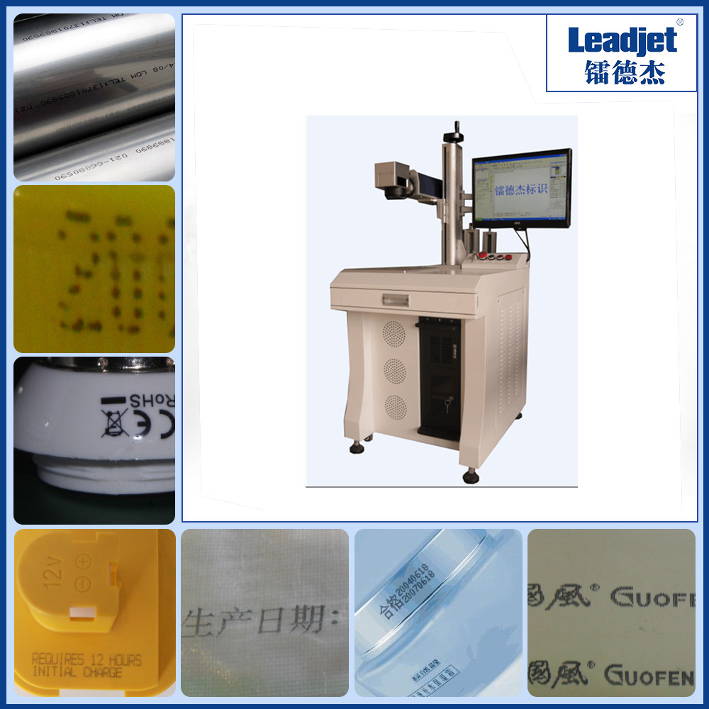 Industrial laser date logo marking machine for metal