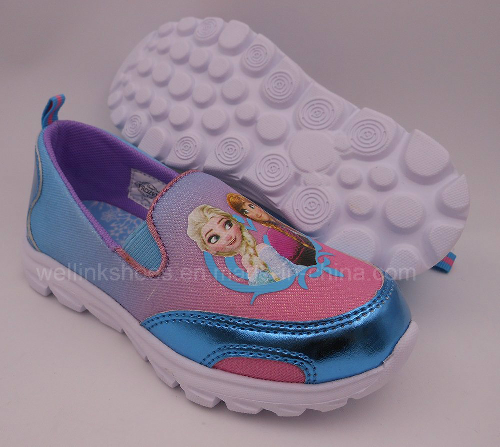 WLX-20160915 Frozen Casual Shoes for Girls