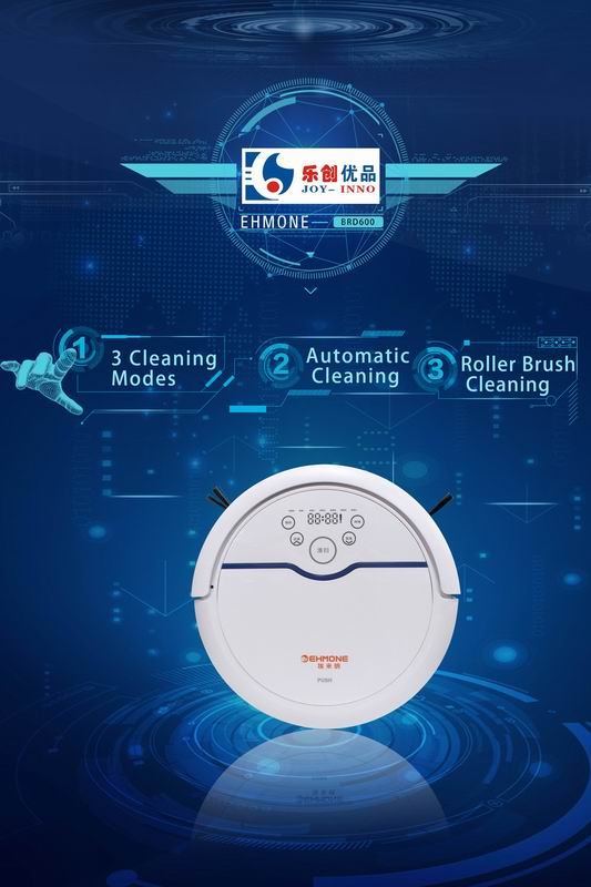 Smart Robot Vacuum Cleaner Product Introduction