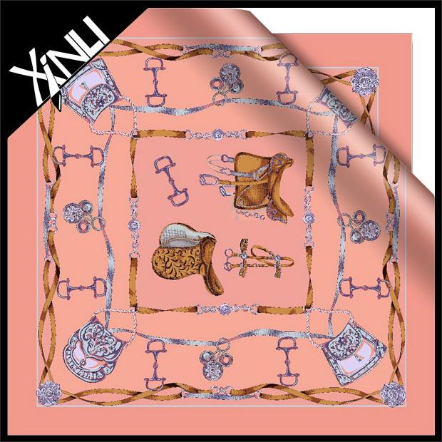 Lady Fashion Silk Printed Scarf