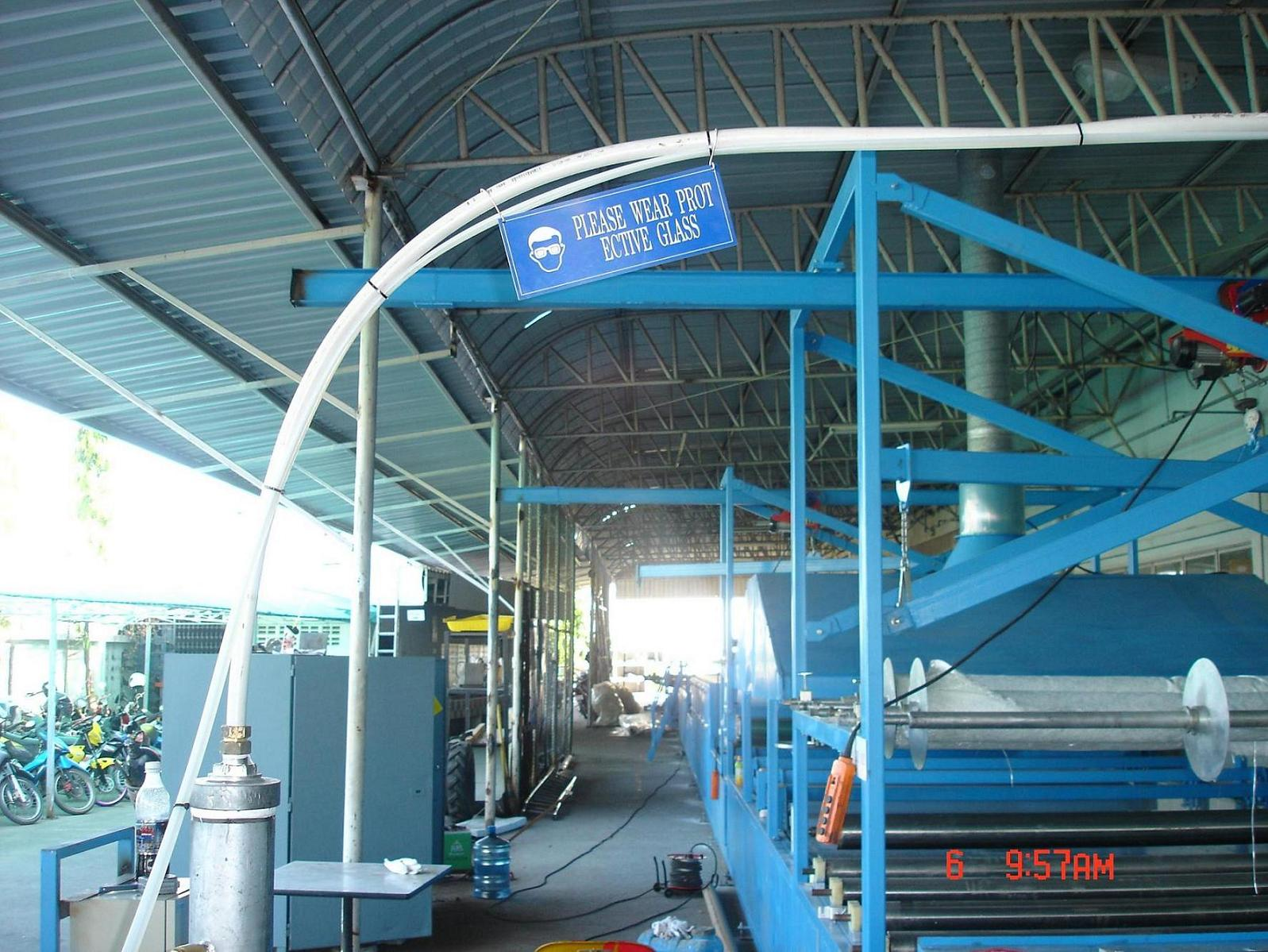 Production Line Export to Thailand