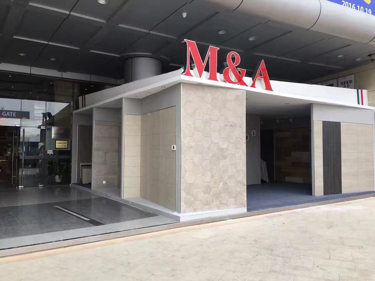 M&A Tiles in Foshan fair 2015