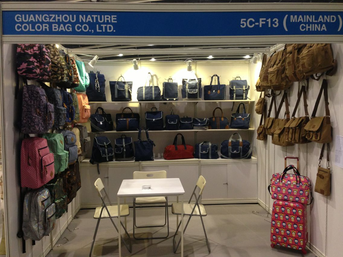 Nature Color Bags in Hong Kong Mega Show- Gift&premium fair