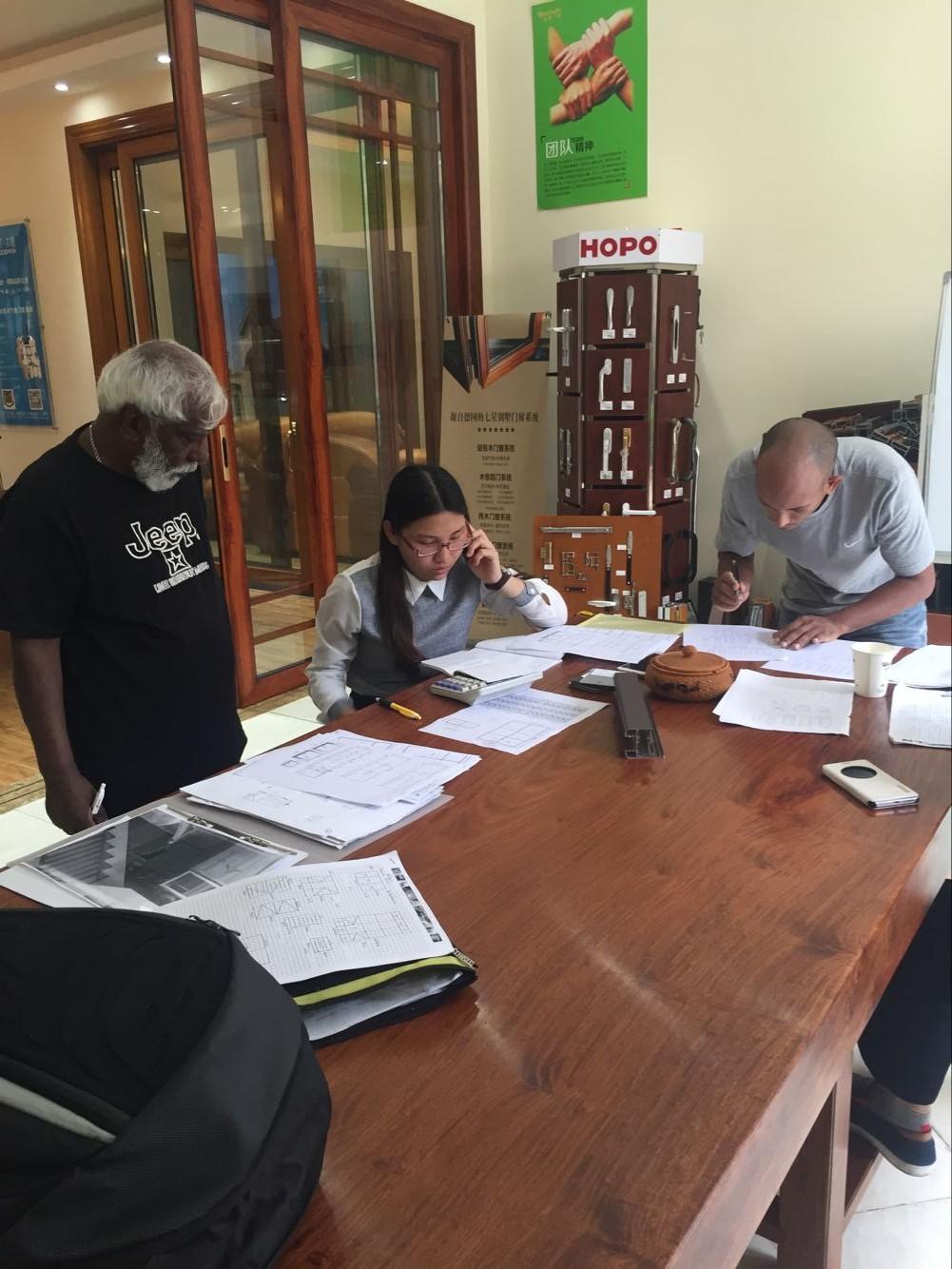Inspecting workshop