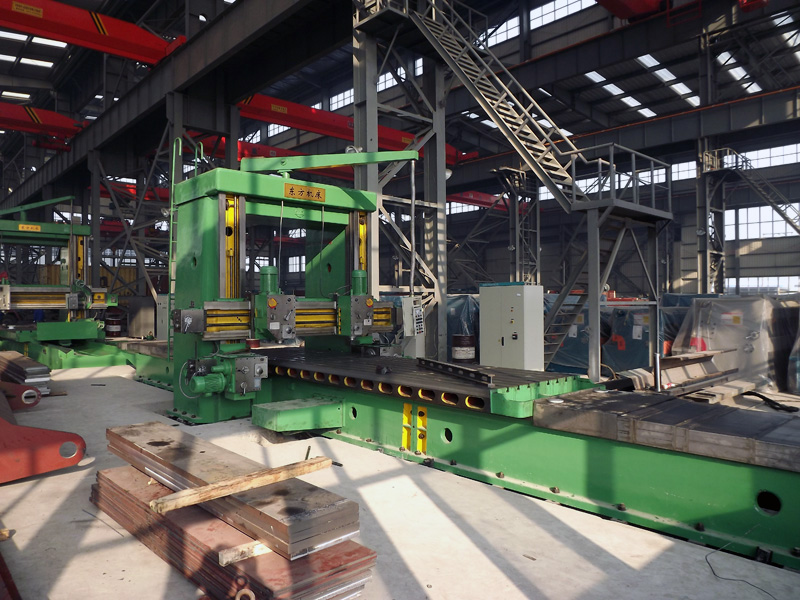 Equipment for producing power press, press brake, shearing machine and etc.