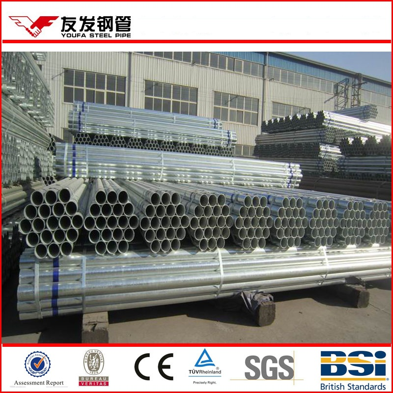 Youfa group steel gi pipe sizes