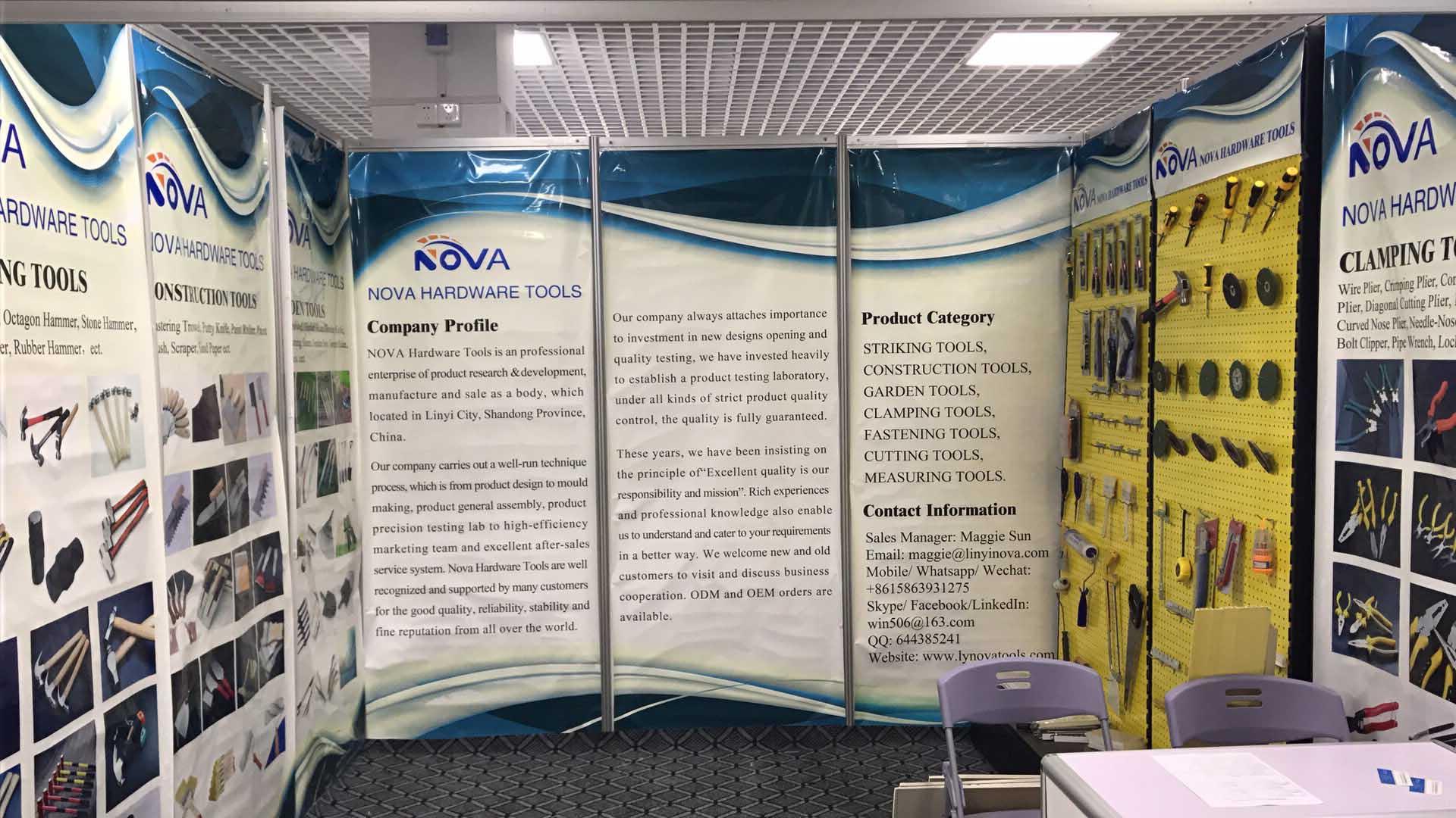 Nova Tools Showroom in Construction Materials Exhibition