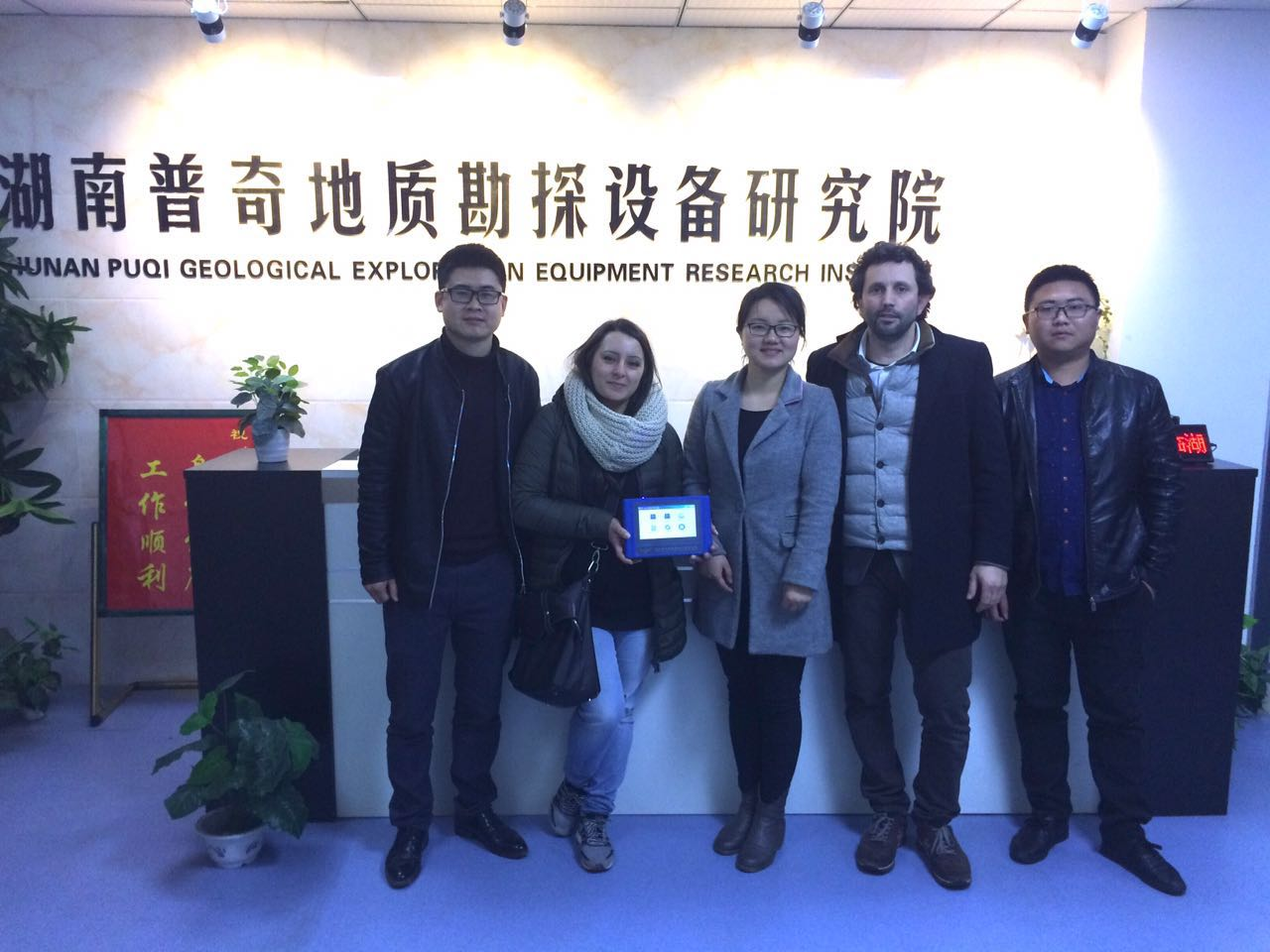 The Italy customer visit us and we start the long term business cooperation ship