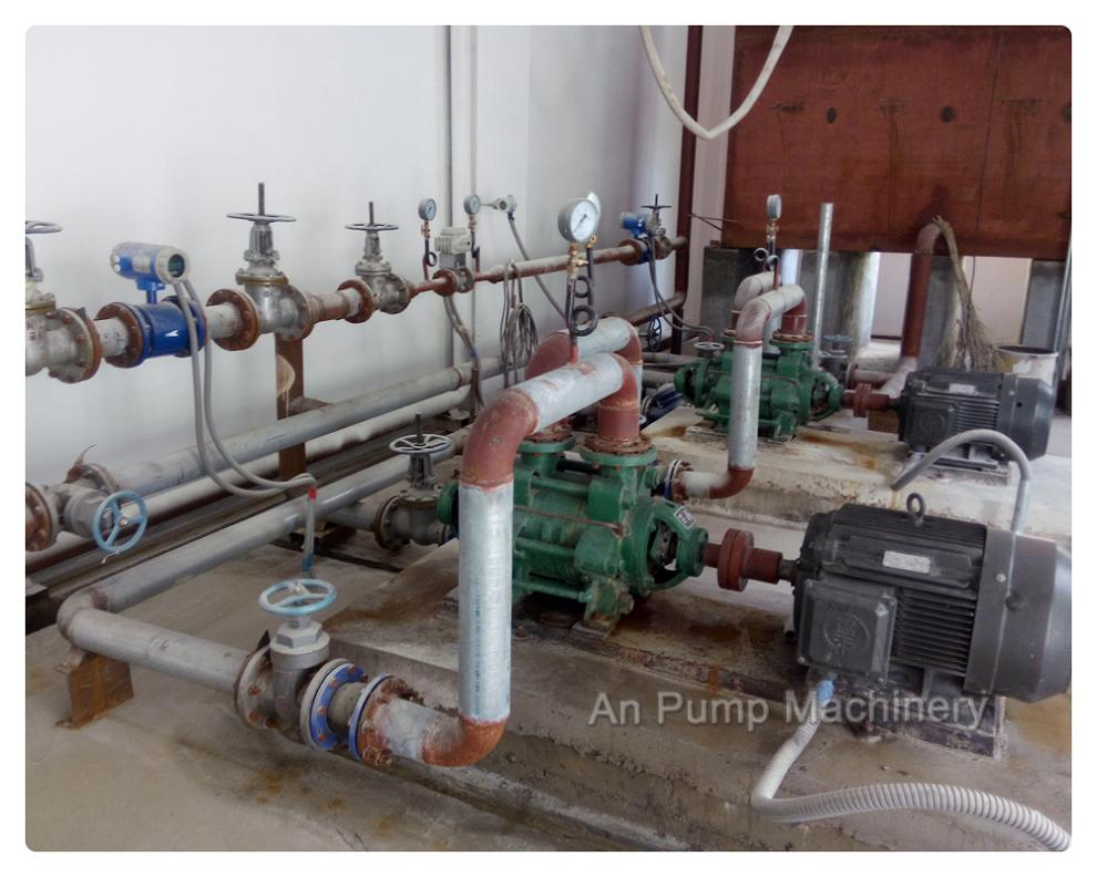 Multistage Pump for Boiler Room in Africa