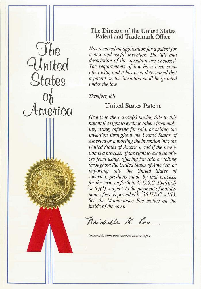BONA obtained the US patent for Preservative-free Nasal pump