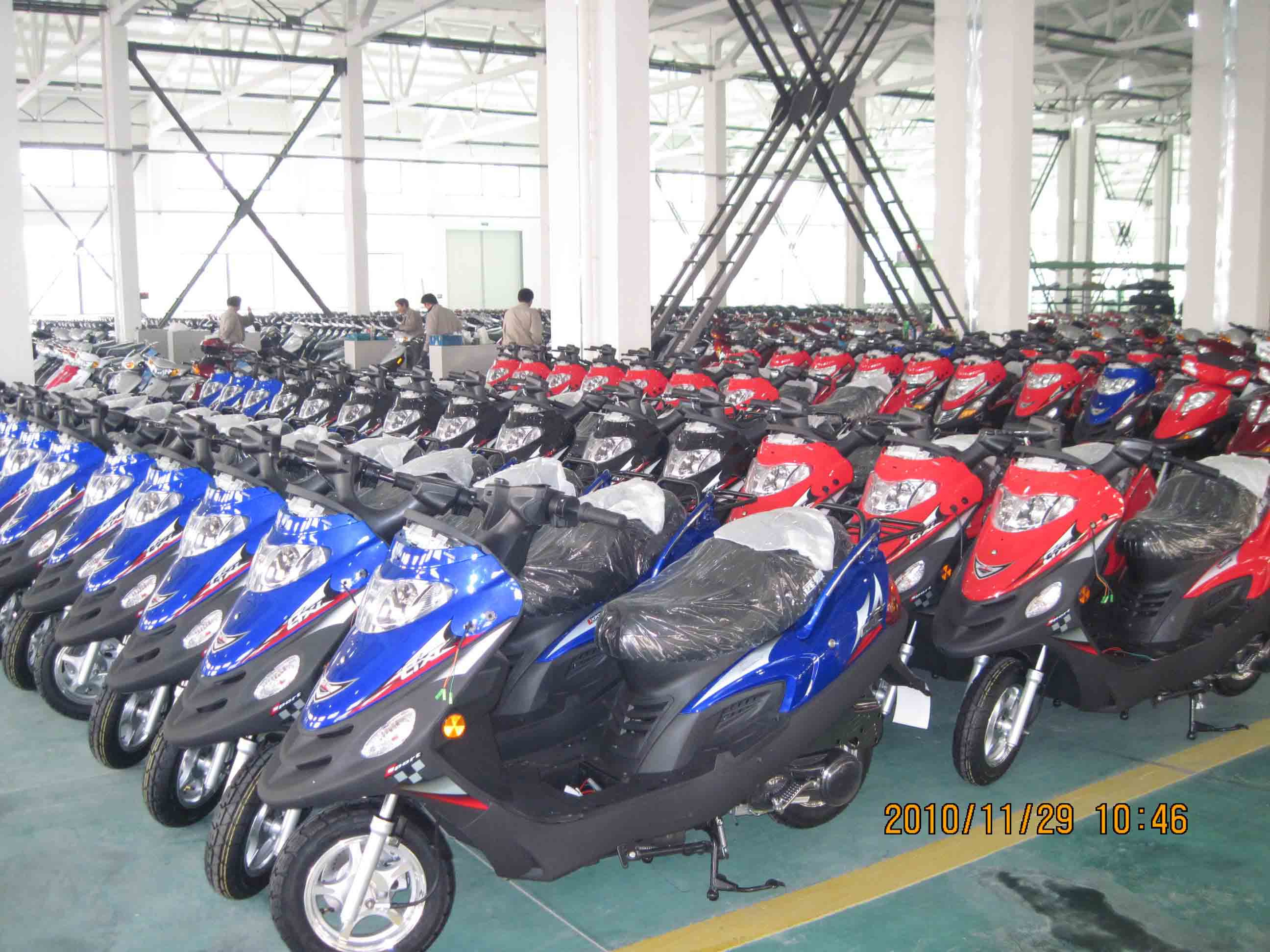 Scooters for East European market