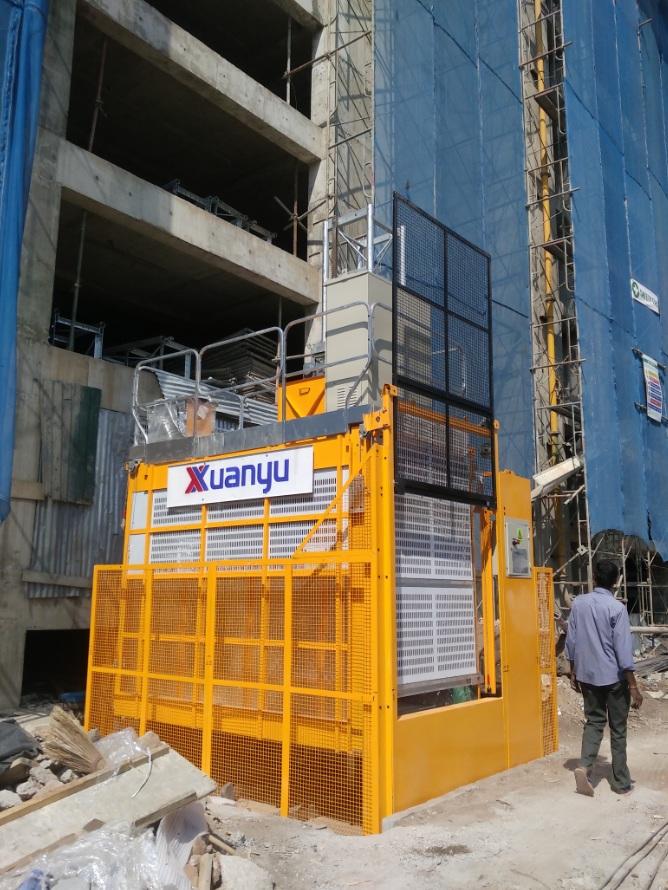 XMT Construction Hoist in Sri Lanka