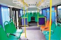 Bus seat installation effect