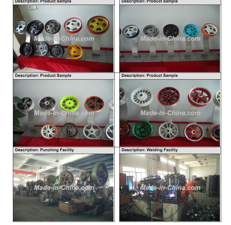 China TACLOO Wheel Rim /Steel Wheel Rim/Alloy Wheel Rim Facotry Manufacturer with SGS Certificate 6