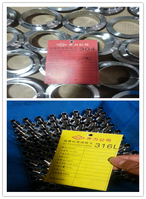 WENZHOU QILI QC PROCESS CARD