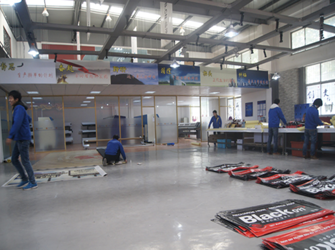 the finishing department of Inkjet printing (1)