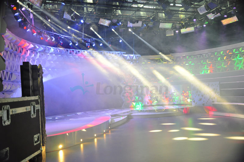 led stage light for the TV show in Brazil