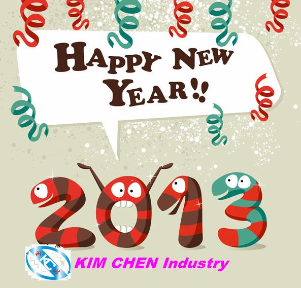 Kimchen Holidays for 2013 Chinese New Year