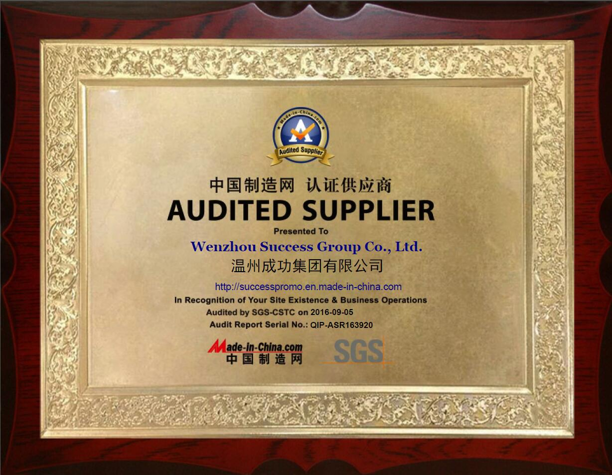 Audited Supplier Report