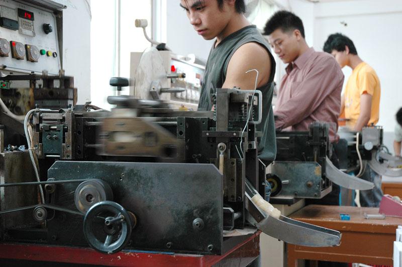 Automatic Cutting and Folding Weaving Machine
