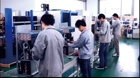 chiller spare parts assembly