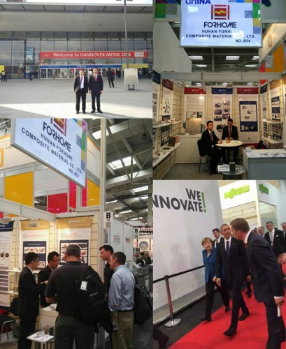 Exhibition Show on Hannover Messe 2016