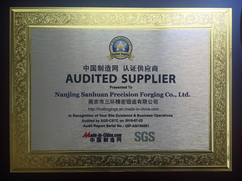 SGS Aduited Supplier