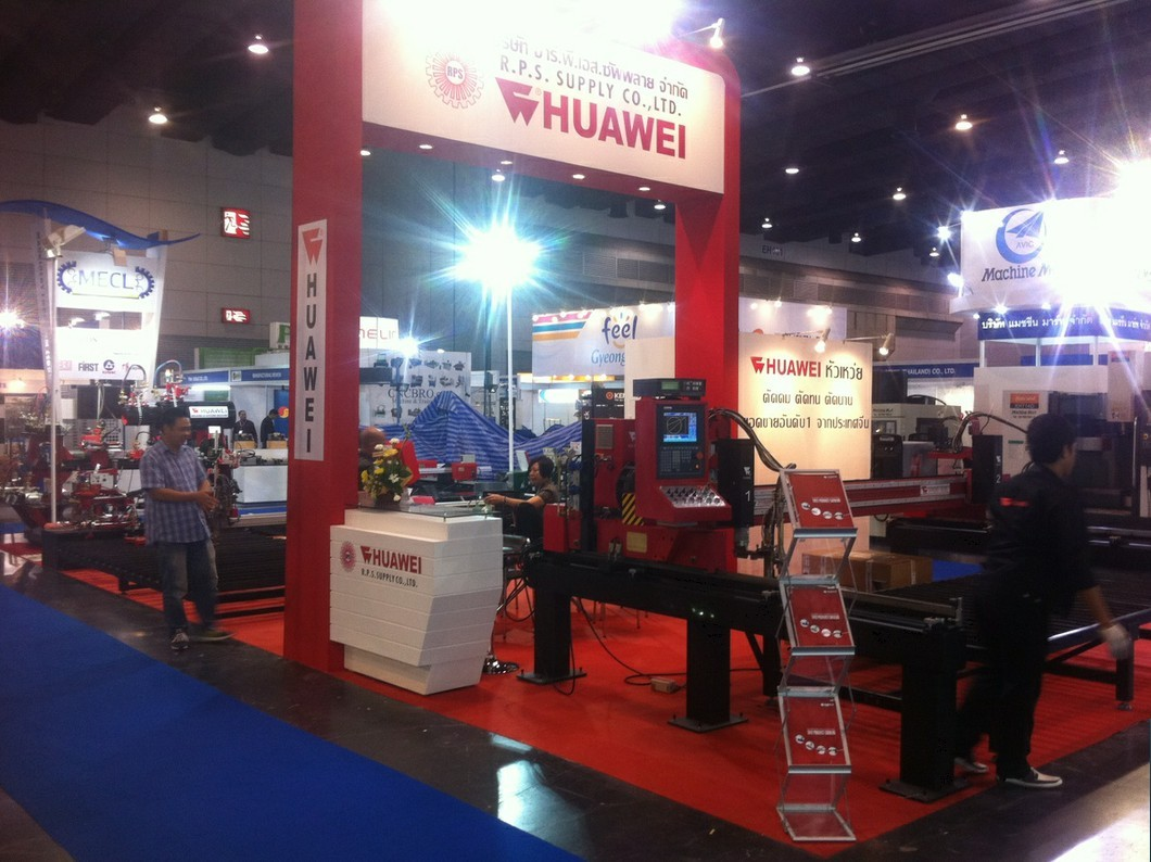 HUAWEI attend the INTERMACH2013 in Thailand