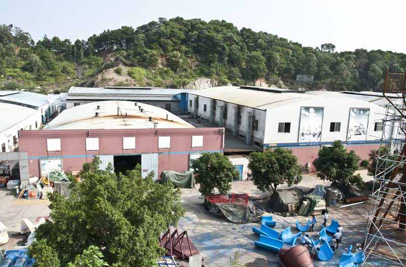 China Professional Children Playground Factory Workshop Pictures
