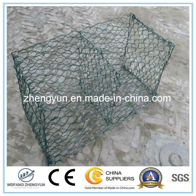 Metal Wire Mesh Gabion Box Stone Cage