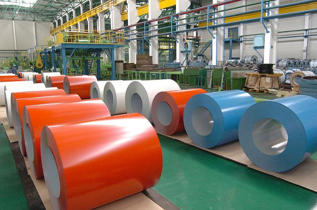 Color Coated Galvalume Steel Coil (PPGL)