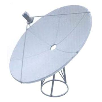 180cm/210cm/240cm Satellite Dish Antenna and Accessory
