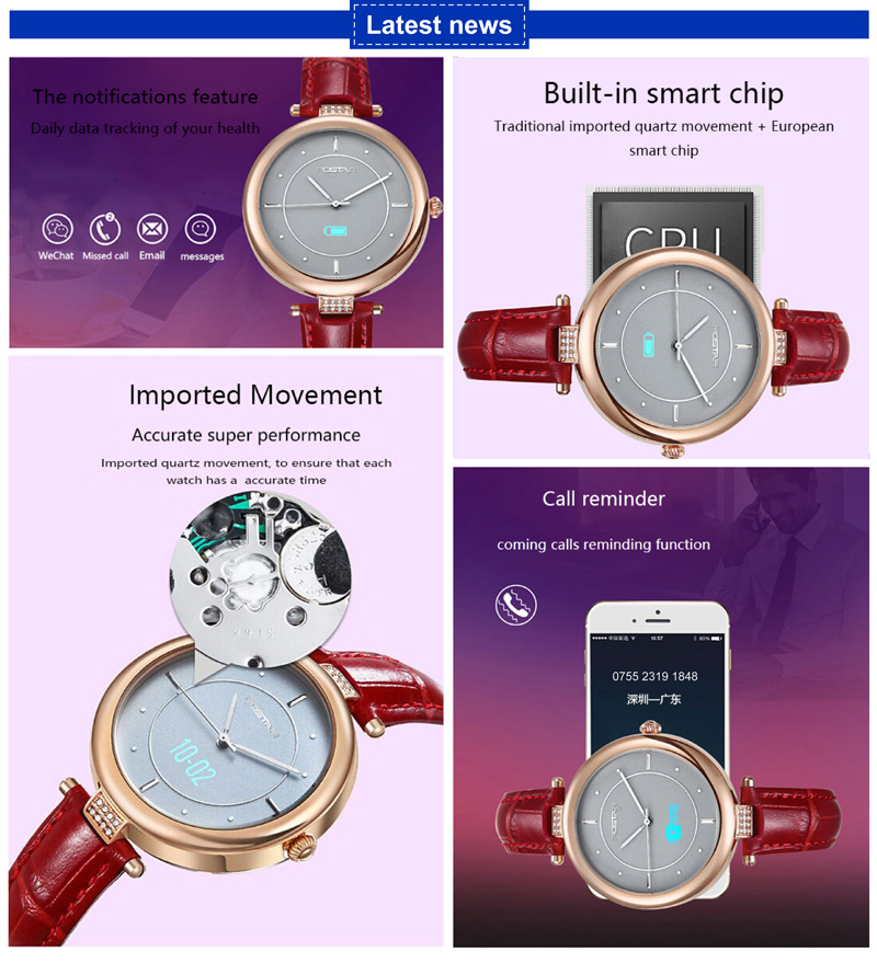 New Developed Smart Lady Watch