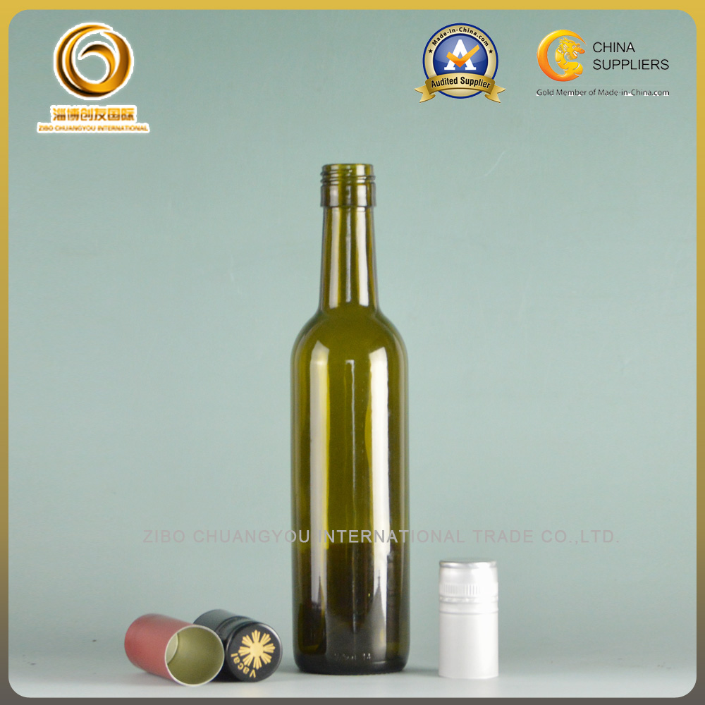 375ml glass wine bottles