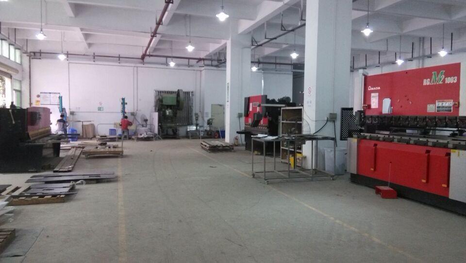 Sheet metal fabricaiton shopfloor
