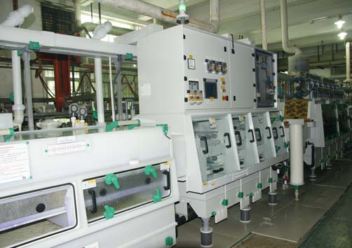 Automatic etching machine