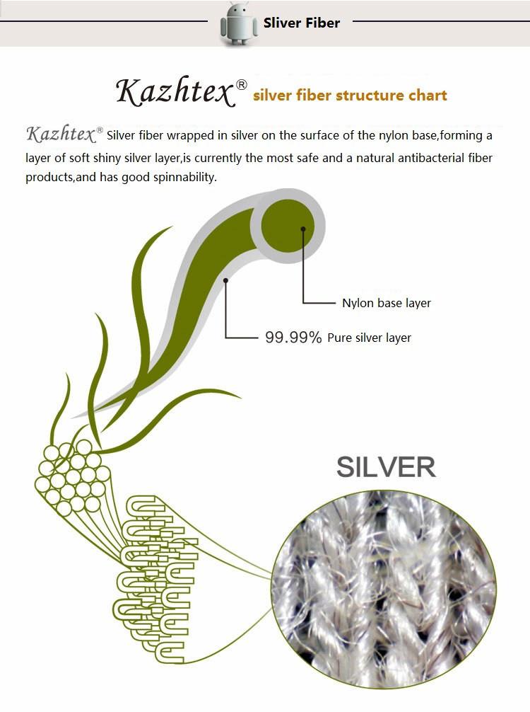 silver fiber