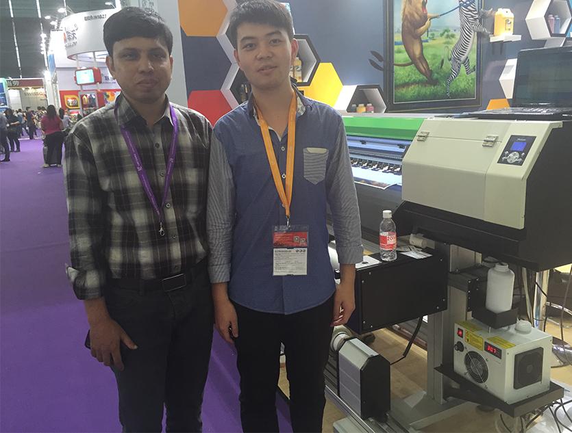 With Bangladesh Customer