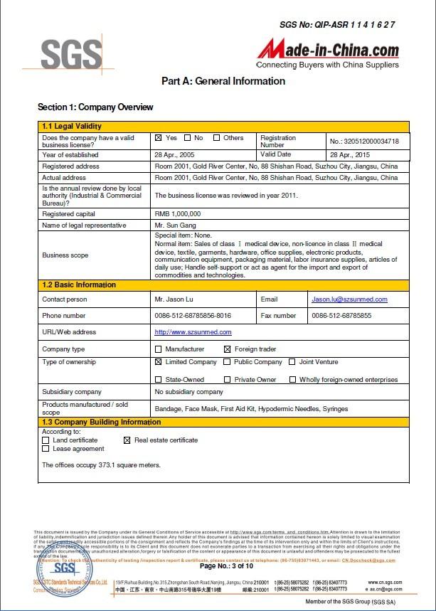 SGS Audit Report-3