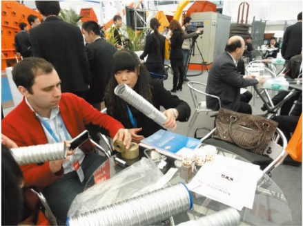 Our Products at the Exhibition of Bauma China