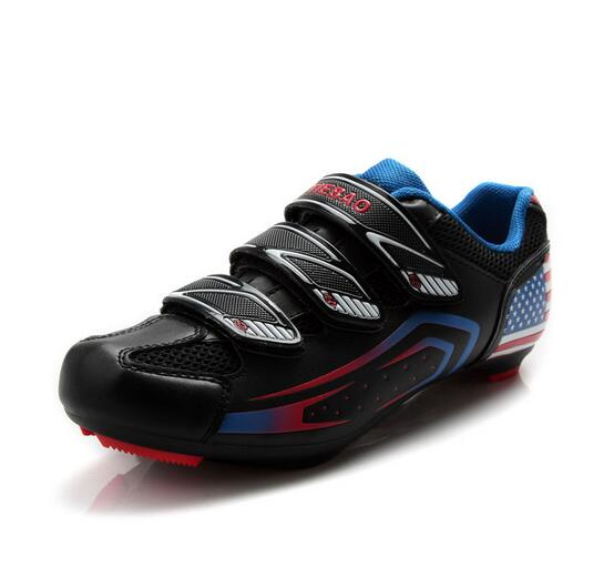 Breathable Bike Self-Locking Shoes for Men Road Cycling Sneaker