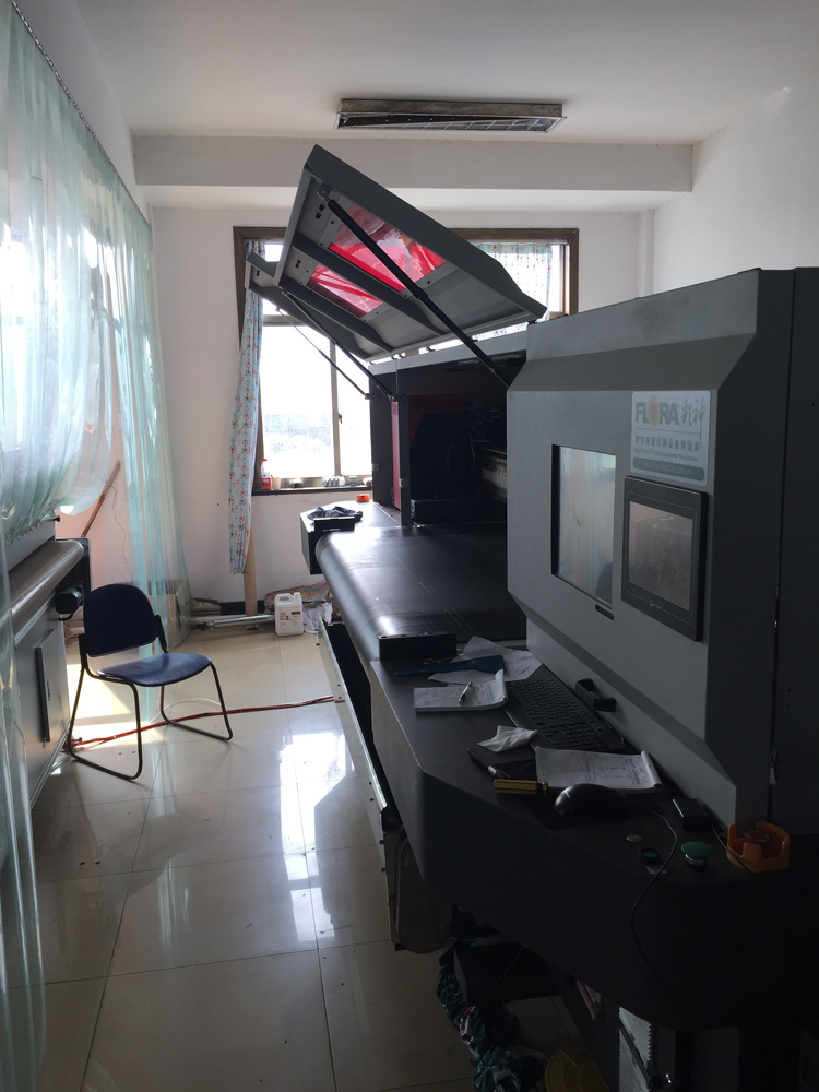 Digital printing work shop