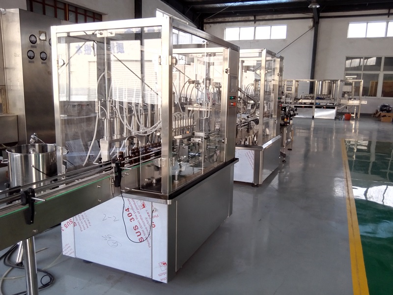 oral solution filling and capping line