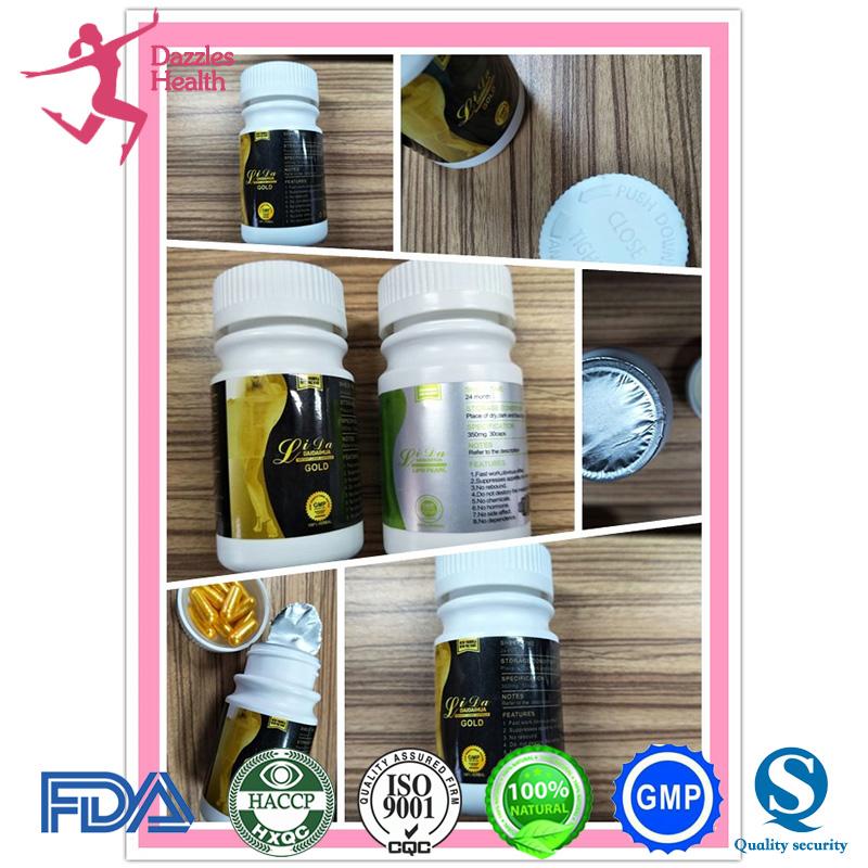 Lida Daidaihua Gold Black Weight Loss Slimming Capsule