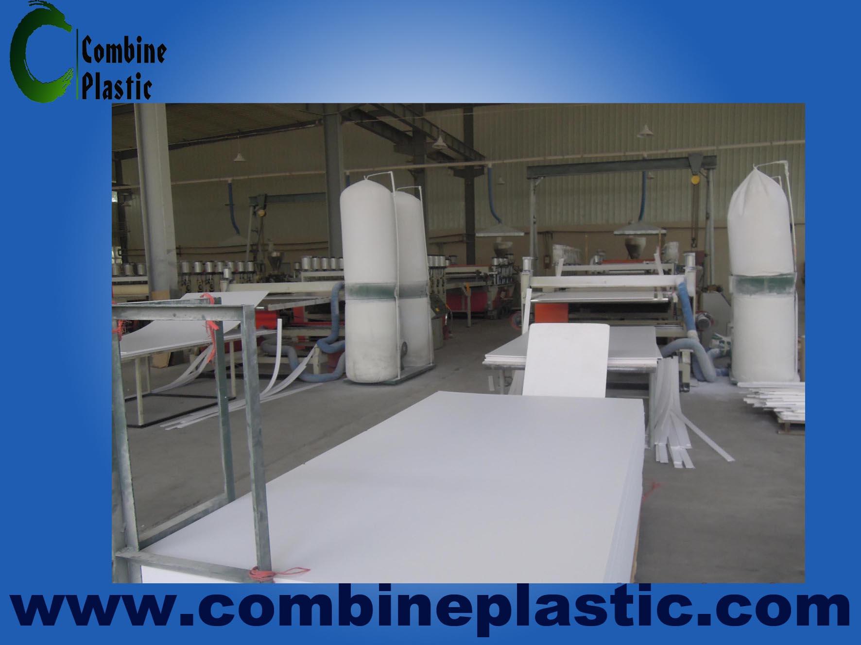 advanced equipments for PVC free foam sheet, PVC celuka foam board
