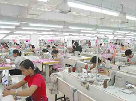 Clothing workshop