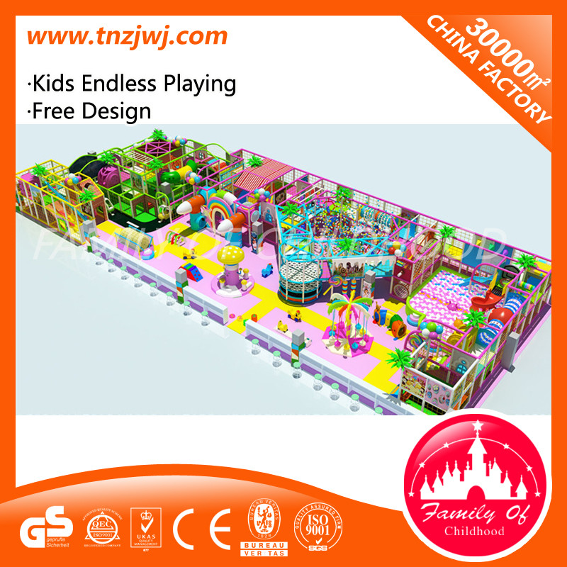 Candy Series Playhouse Equipment Indoor Playground for Jungle Gym